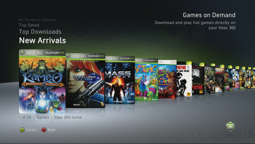 The Games on Demad service allows you to purchase and download full games