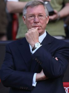Sir Alex Ferguson is feeling the pressure