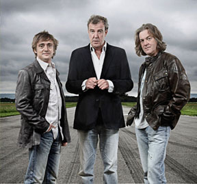 The Top Gear team were back on our screens... briefly