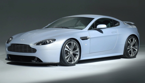 Aston Martin Vantage White. 1998 Aston Martin Project